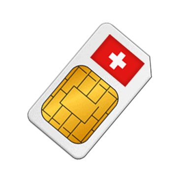 Prepaid SIM Card Switzerland - Data, SMS & Calls from $29 9