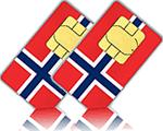 Smart Comfort XL Tarjeta SIM Noruega
