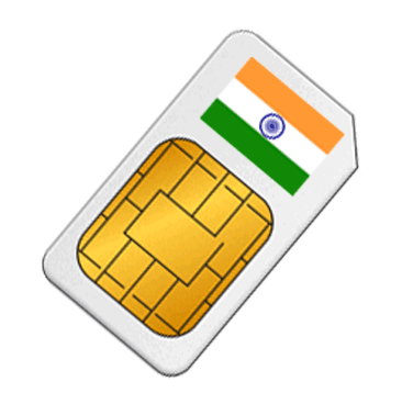 Prepaid SIM Card India - 4GB Data in 4G Speed from $29 9