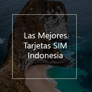 Las 8 Mejores Tarjetas SIM Prepago para Indonesia en 2021