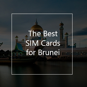 The 9 Best Prepaid SIM Cards for Brunei in 2021