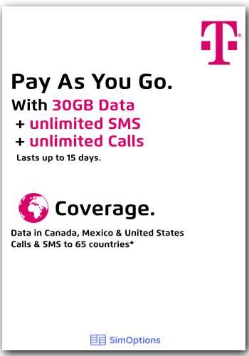 Prepaid SIM - 50GB: 50GB* | Unbegrenzt Anrufe & SMS